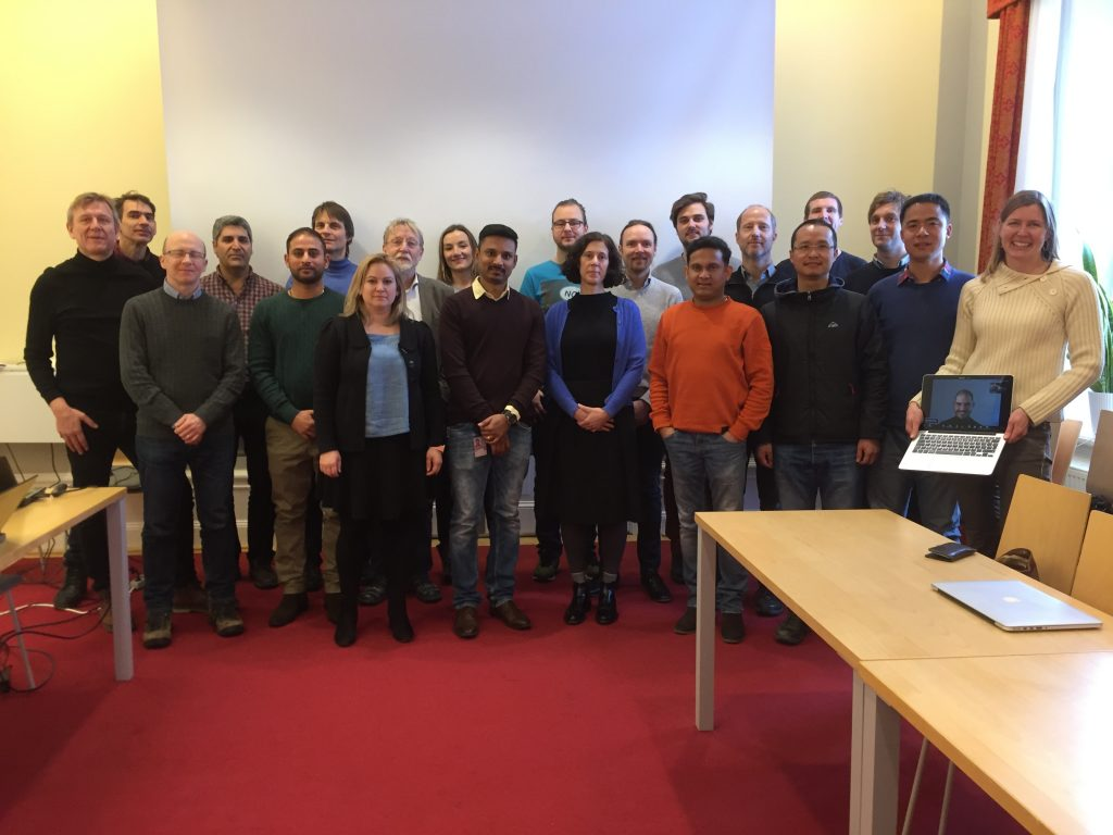 Group picture of the Sysmic network meeting in Uppsala, January 9th, 2019